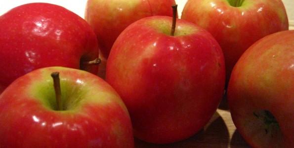 Manzana en la dieta diaria