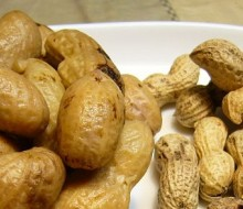 Bistecs con cacahuetes