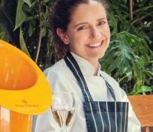 Elena Reygadas cocina con James Lowe