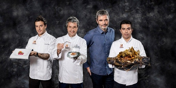 Tres chefs evocan La Última Cena