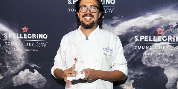 Daniel Nates prepara la final de San Pellegrino Young Chef
