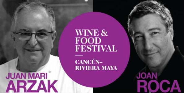 Wine & Food Festival Cancún 2015