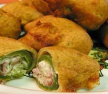 Receta: Jalapeños empanizados con queso