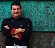 Alejandro Ruiz cocina con los hermanos Roca