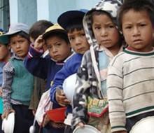 Peligro de desnutrición infantil