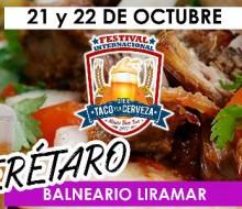 Festival Internacional del Taco y la Cerveza en Querétaro