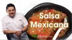 Receta de Salsa Mexicana
